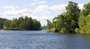 海岛Valaam,俄罗斯 库存图片