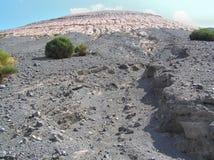 海岛vulcano 免版税图库摄影