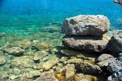 海岩石 免版税图库摄影