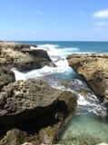 海岩石 免版税库存图片