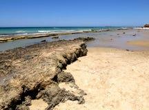 海岩石 库存图片