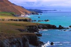海岸东部hvalnes冰岛 库存图片