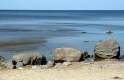 海岸低潮 库存图片