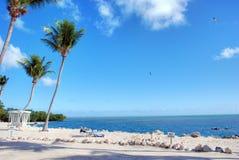 海岸佛罗里达islamorada关键字 免版税库存照片
