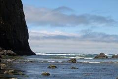 海岸俄勒冈 免版税库存照片