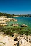 海岸克罗地亚 免版税图库摄影