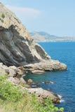海岸克里米亚 免版税库存照片