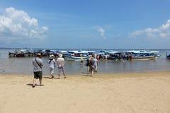 海岸公园库塔,巴厘岛 免版税库存照片