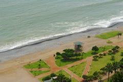 海岸利马miraflores秘鲁 免版税图库摄影