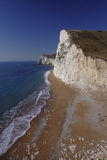 海岸南多西特的路径 图库摄影