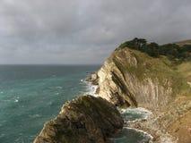 海岸南的英国 库存图片