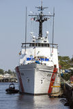 海岸卫队前面 免版税图库摄影