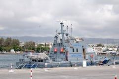 海岸卫队小船 图库摄影