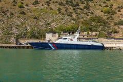 海岸卫队船 免版税库存图片
