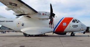 海岸卫队HC-144海洋哨兵侦察机 免版税库存图片