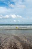 海岸在不列塔尼法国 库存图片