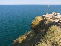 海岸在保加利亚 库存图片