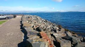 海岸在曼格 库存照片