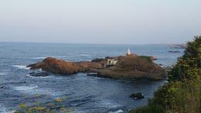 海岸在海 库存照片