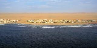 海岸在纳米比亚 免版税库存照片