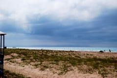 海岸在阿纳帕 免版税库存照片