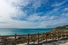 海岸在Kenting台湾 库存图片
