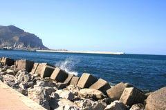 海岸地中海 库存图片