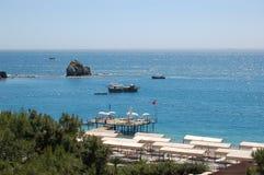 海岸地中海 免版税库存图片