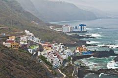 海岸城镇 免版税库存图片