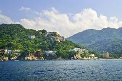 海岸墨西哥太平洋 免版税图库摄影