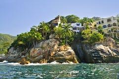 海岸墨西哥太平洋 免版税库存照片