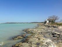 海岸墨西哥湾 免版税库存图片