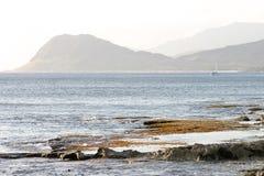 海岸夏威夷坚固性的奥阿胡岛 免版税图库摄影