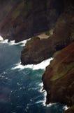 海岸夏威夷na pali 免版税库存图片