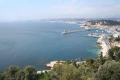 海岸好的法国 库存照片