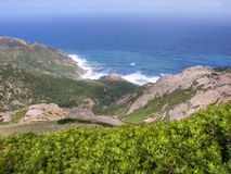 海岸意大利撒丁岛夏天 免版税库存图片