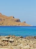 海岸意大利西西里岛 免版税库存照片