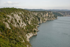 海岸意大利语 免版税库存图片