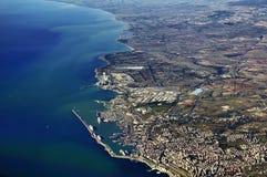 海岸意大利语 免版税库存照片
