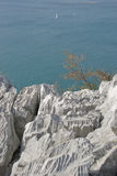 海岸意大利 免版税库存图片