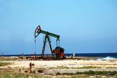 海岸插孔油泵 库存照片