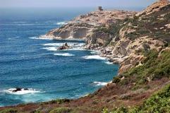 海岸撒丁岛 库存图片