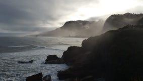 海岸新的西方西兰 库存照片