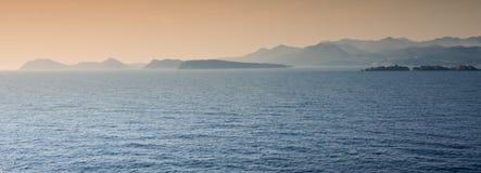 海岸杜布罗夫尼克市 免版税库存图片