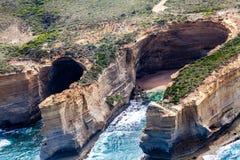 海岸概略的看法在坎贝尔港国家公园 免版税图库摄影
