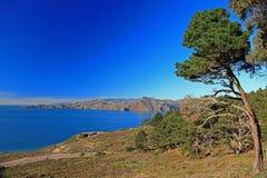 海岸横向 图库摄影