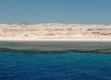 海岸沙漠西奈 库存照片