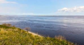 海岸河 库存照片