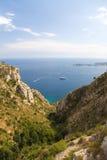 海岸法国 免版税库存照片