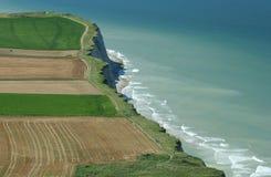 海岸法语 免版税库存照片